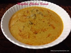 Mughlai Chicken Korma Curry