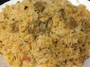 Tahari recipe - tehari