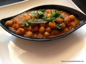 punjabi chole recipe , chana masla