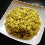 uggani or puffed rice recipe