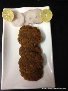 hyderabadi shami kabab recipe, mutton shami kabab recipe