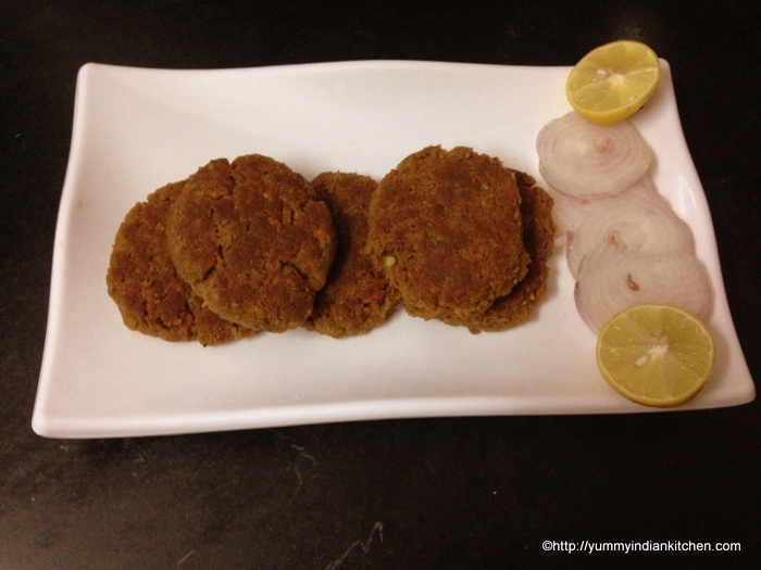 shami kabab recipe hyderabadi, mutton shami kabab