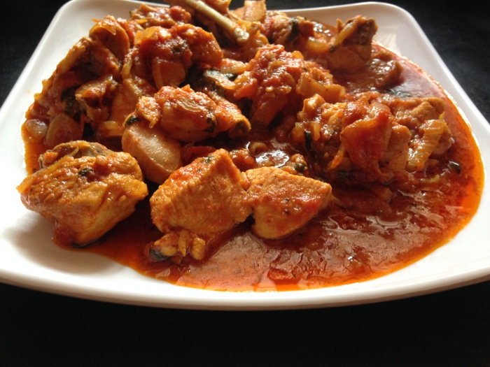 spicy onion tomato  chicken  curry gravy recipe