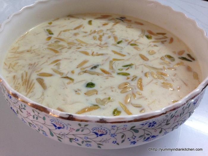 Sheer- Khurma- Recipe- Sheer Korma