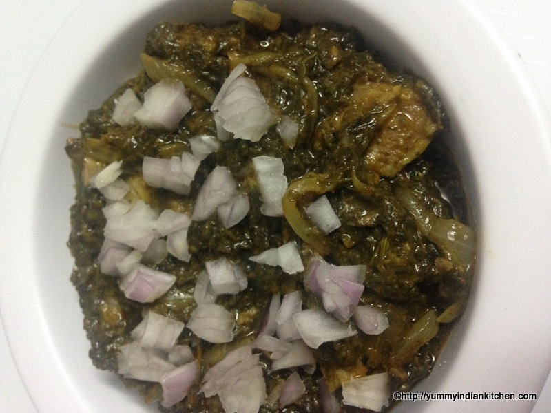 andhra style gongura mutton curry or gongura mutton recipe