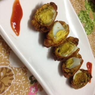 egg pakora recipe or egg bonda