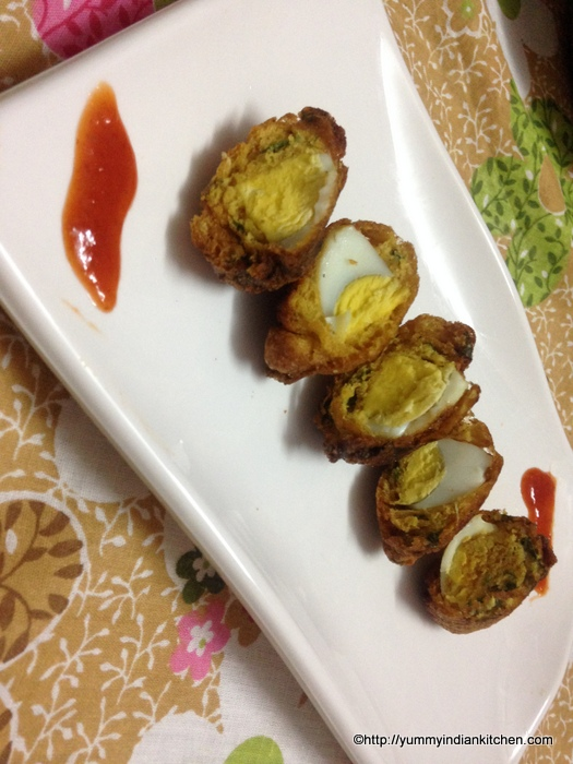 egg pakora recipe or egg bonda