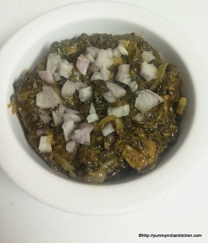 gongura mutton recipe or gongura mutton curry recipe