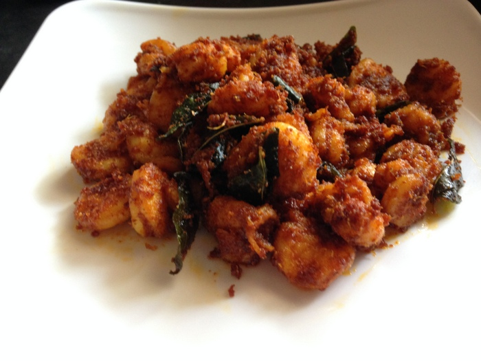 Prawn fry recipe yummy indian kitchen how to make prawns fry recipe forumfinder Image collections