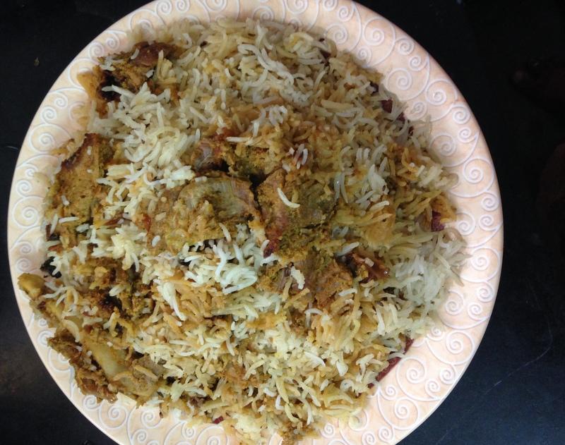 Mutton dum biryani recipe yummy indian kitchen hyderabadi dum mutton biryani mutton dum biryani recipe forumfinder Images