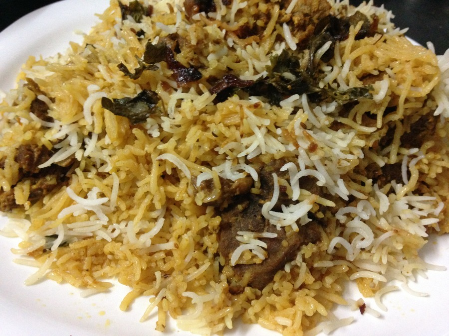 hyderabadi mutton biryani recipe how to make hyderabadi mutton