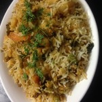 Hyderabadi Veg Dum Biryani Recipe, How To Make Hyderabadi Vegetable Biryani