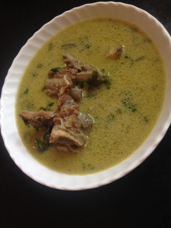 how to prepare mutton paya soup