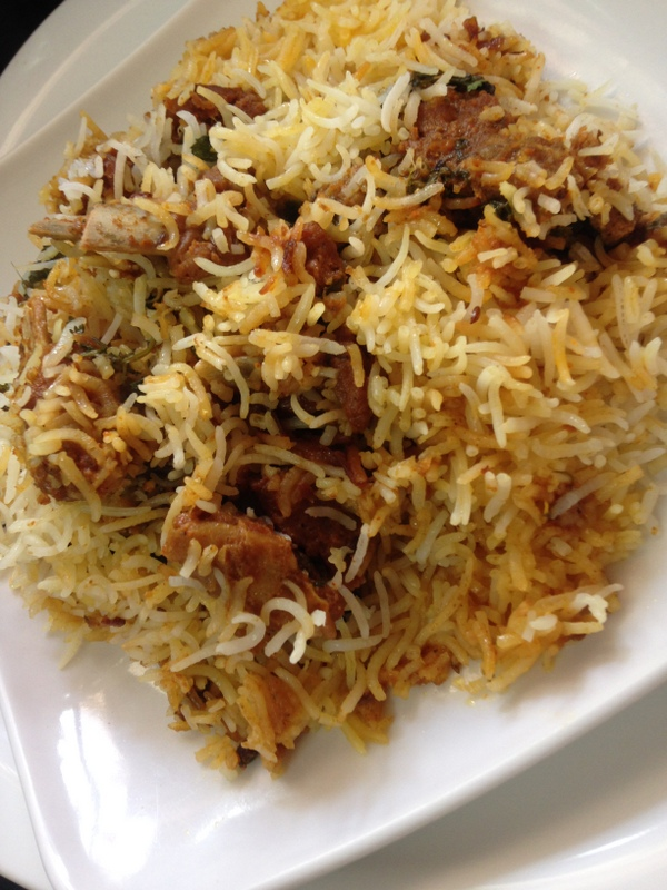 indian mutton biryani