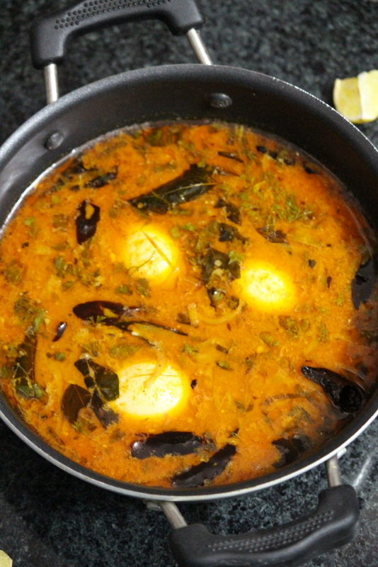 ande ka salan or hyderabadi egg curry