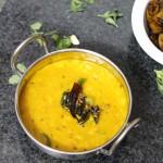 Beerakaya Pappu Recipe Andhra Style, Ridge Gourd Dal