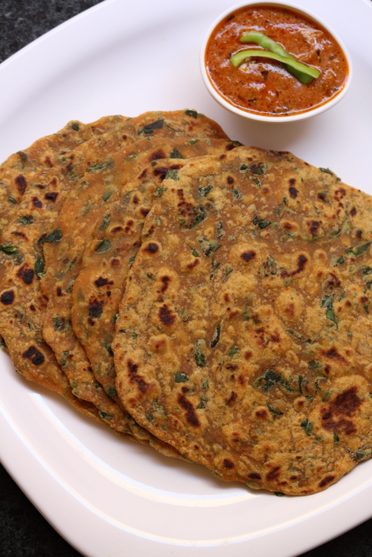 how to make methi paratha recipe