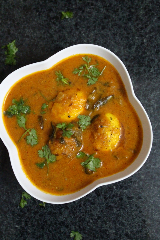 south indian egg curry recipe