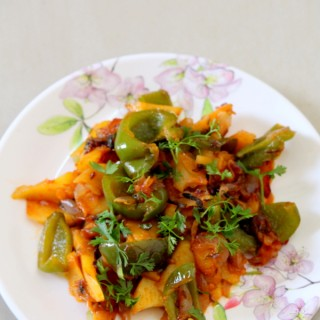 aloo-capsicum-recipe-potato-capsicum-recipe
