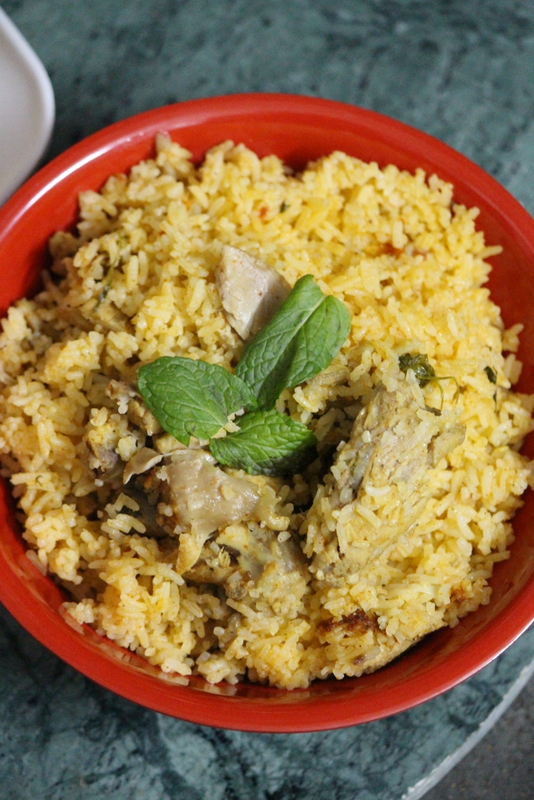 ambur chicken biryani recipe
