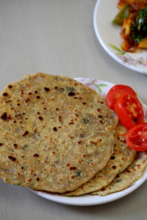 Missi Roti Recipe Punjabi Style Yummy Indian Kitchen