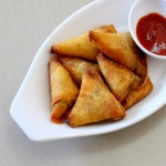 Onion Samosa Recipe, How To Make Onion Samosa | Mini Samosa Recipe