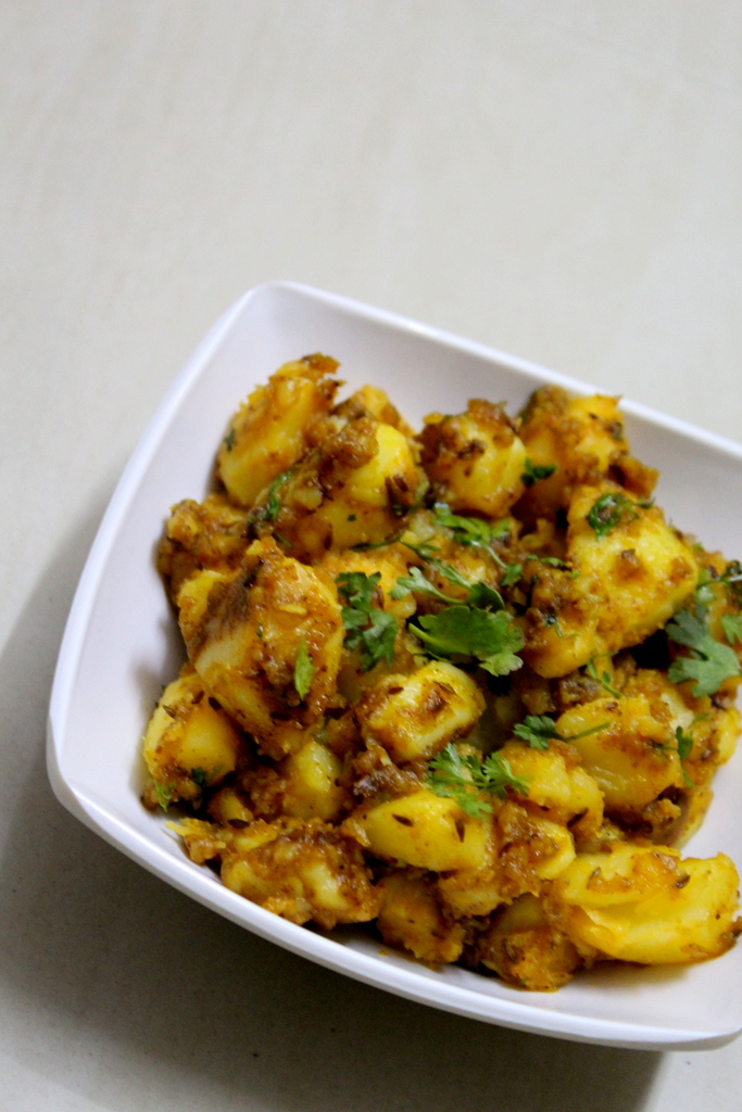 how to make jeera aloo recipe