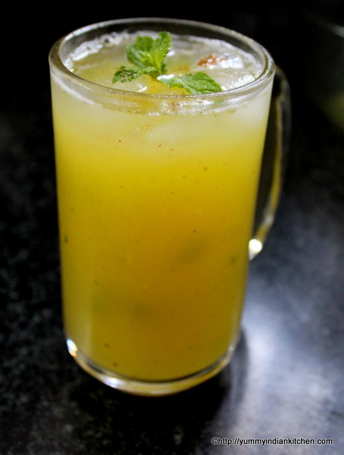 Aam Panna Recipe | Aam ka Panna Recipe| Kairi Panna - Yummy Indian ...