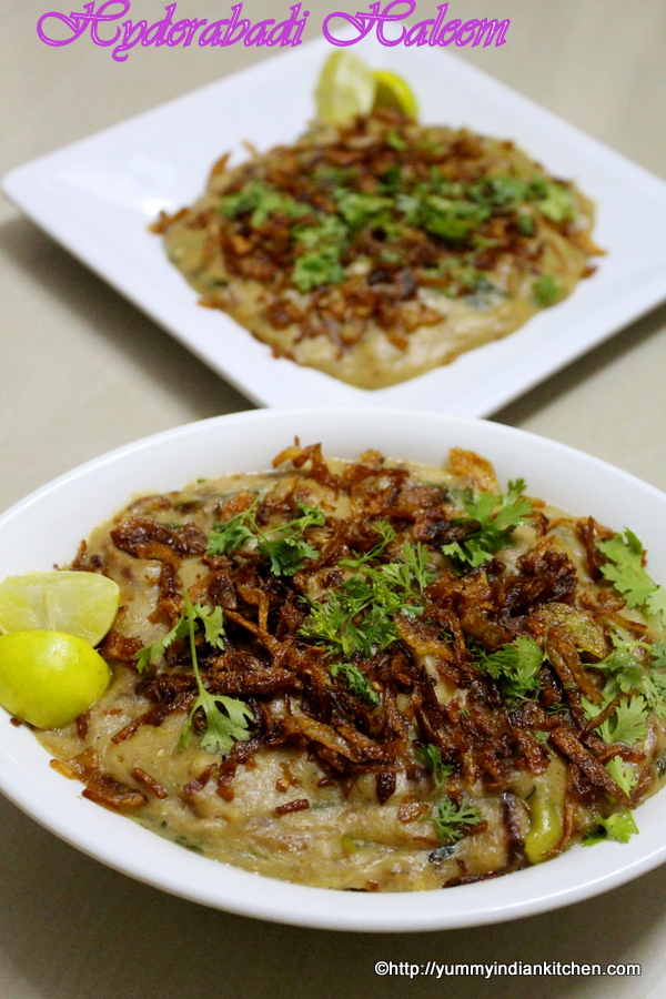 haleem recipe or mutton haleem hyderabadi style