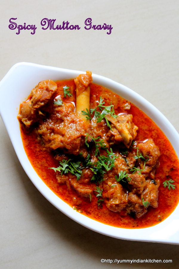 mutton gravy recipe spicy