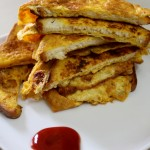 Bread Omelette Recipe, Bread Omelet Sandwich