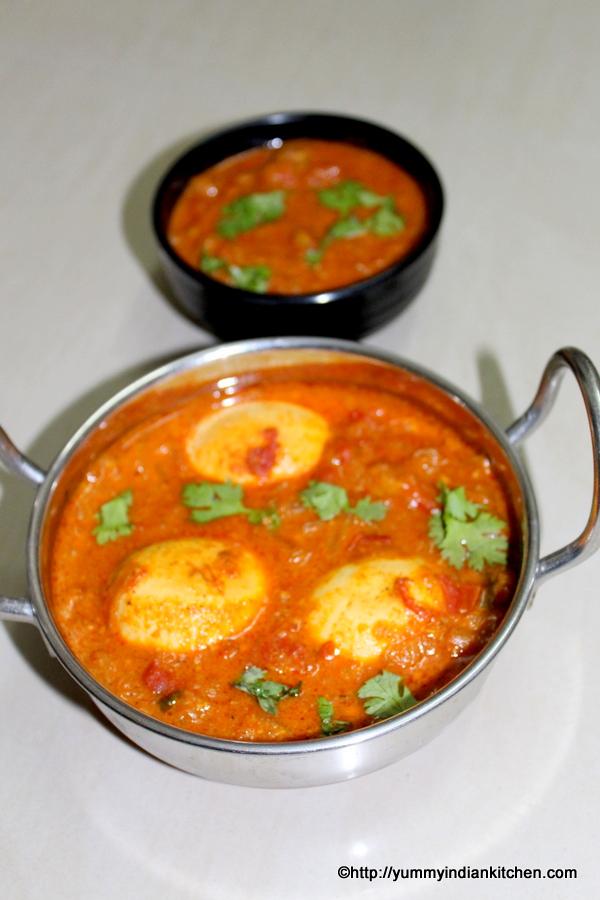 Egg Kurma Recipe, How To Make Egg Korma