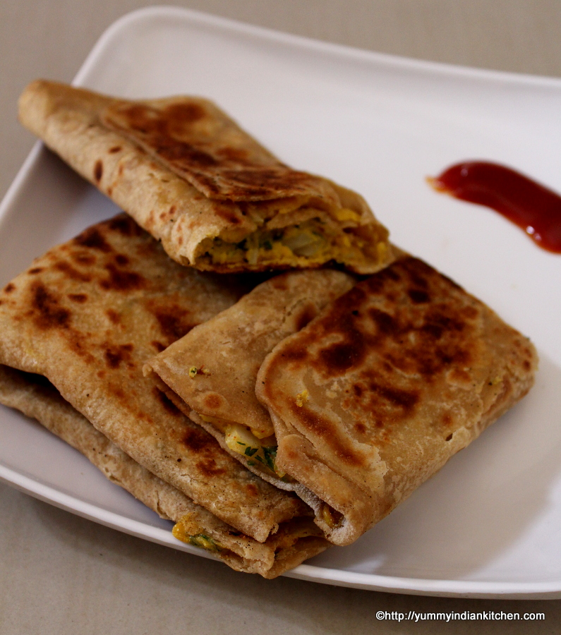 how-to-make-egg-paratha