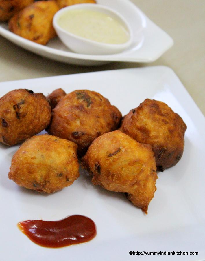 mysore bonda or mysore bajji recipe