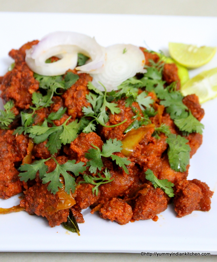 Chicken 65 recipe hyderabadi restaurant style yummy indian kitchen chicken 65 recipe gravy forumfinder Choice Image