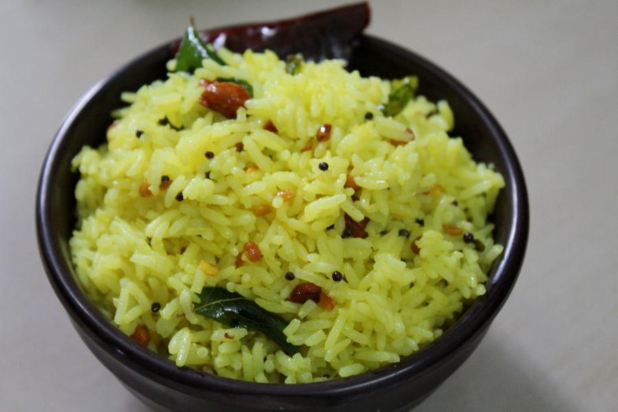 lemon-rice-nimmakaya-pulihora