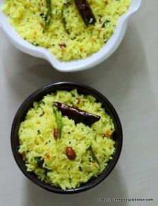 lemon-rice-recipe-nimmakaya-pulihora