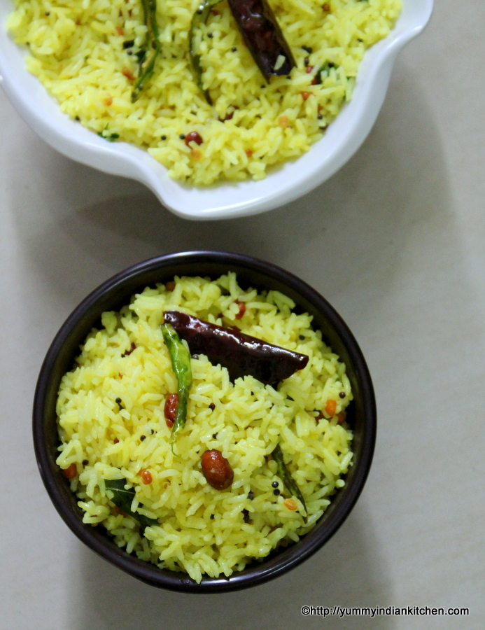 lemon-rice-recipe-nimmakaya-pulihora