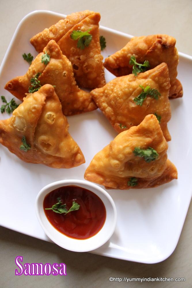 punjabi samosa or aloo samosa recipe