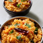 Tomato Rice Recipe South Indian, Thakkali Sadam | Tomato Bath