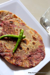 how-to-make-beetroot-paratha