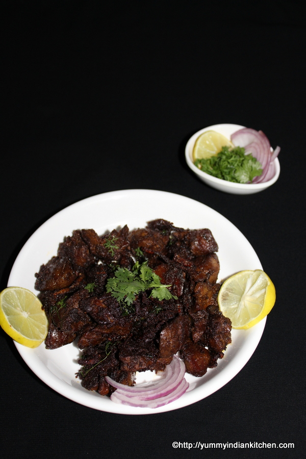 chicken liver fry pan fried