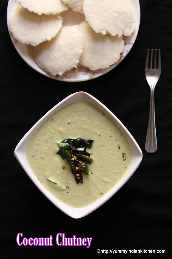 how to make coconut chutney for idli dosa