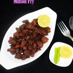 mutton fry recipe hyderabadi | how to make mutton fry