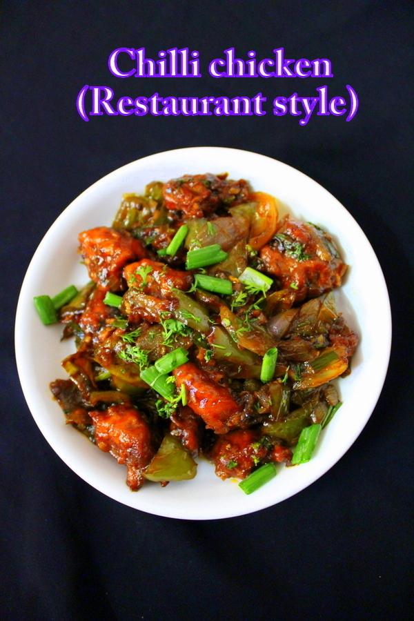 chilli chicken recipe dry and gravy