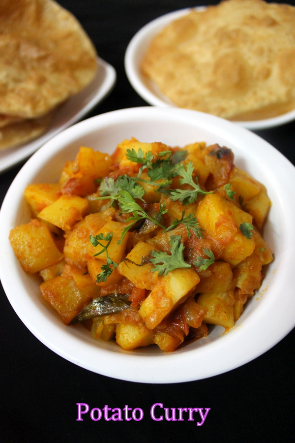 how to make potato curry for roti and chapati