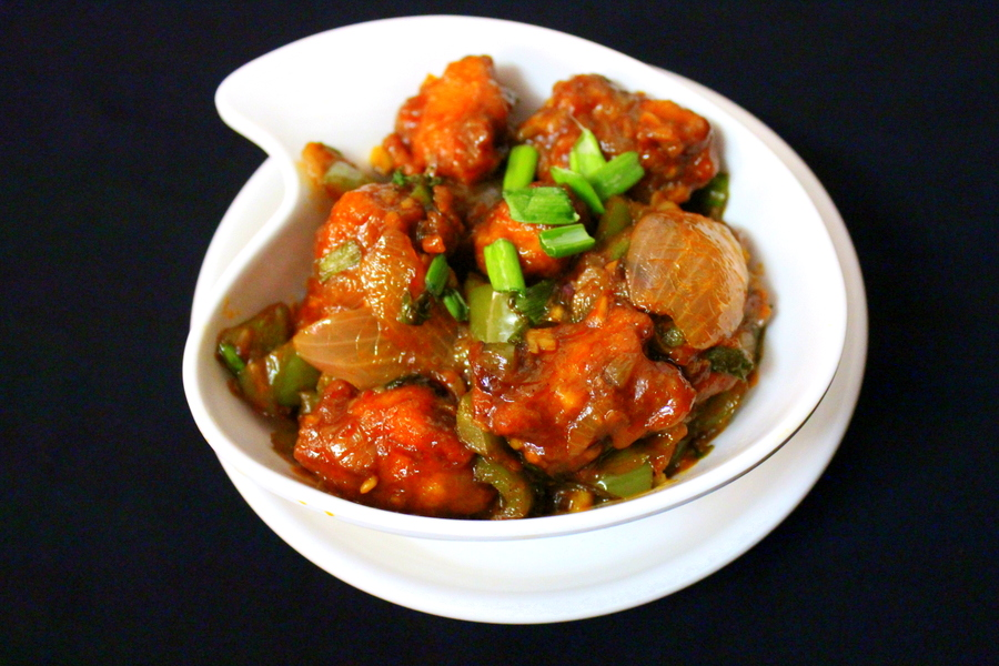 chicken-manchurian-dry-recipe