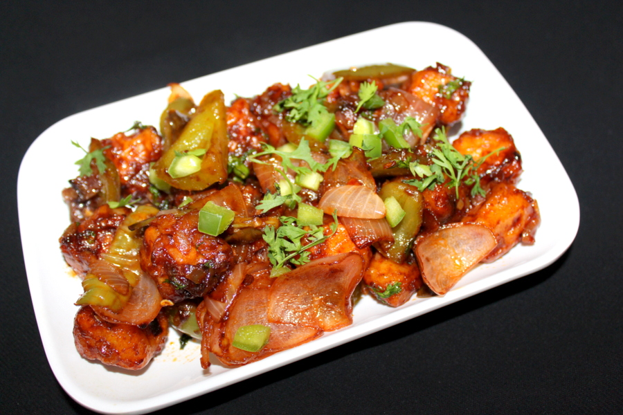 how-to-make-chilli-paneer-chilli-paneer-dry
