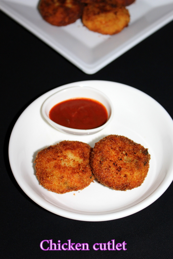 chicken cutlets recipe or how to make chicken cutlets