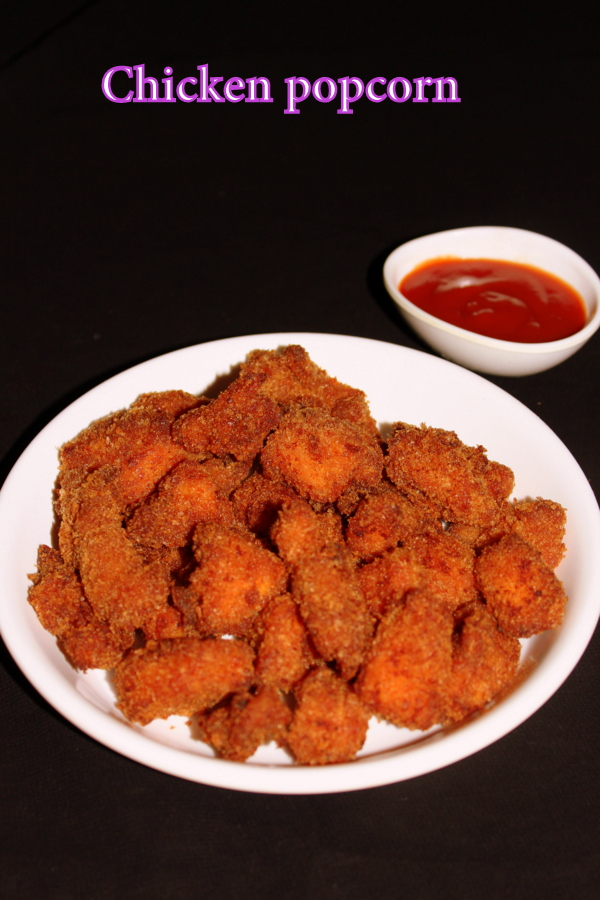 chicken popcorn kfc style or kfc popcorn chicken